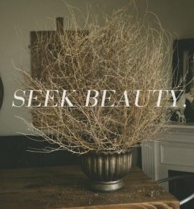 Seek it out!